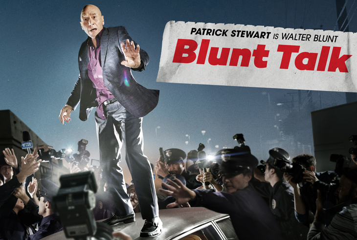 affiche de Blunt Talk