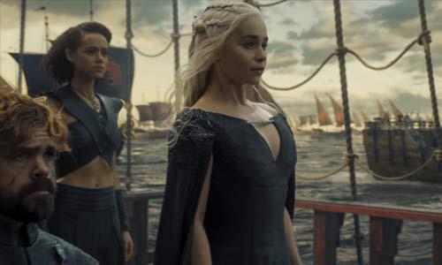 daenerys tyrion sur le bateau