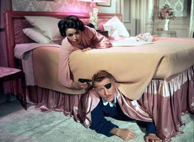 Danny Kaye bed