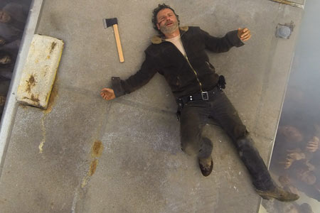 Andrew lincoln The Walking Dead saison 7