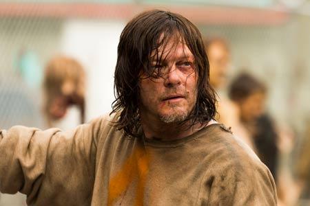Norman Reedus dans The Walking Dead saison 7