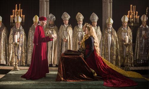 Mariage de la princesse d'Elizabeth d'York et d'Henry VII