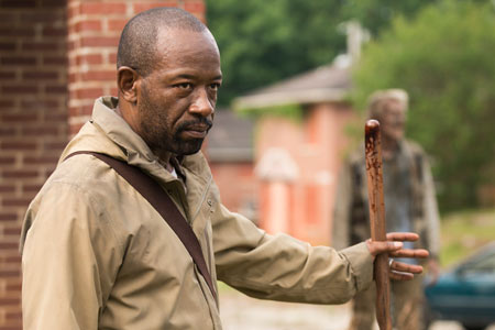 Lennie james The Walking Dead saison 7